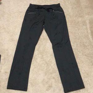 MTA Sports Black Track Dri Fit Pants